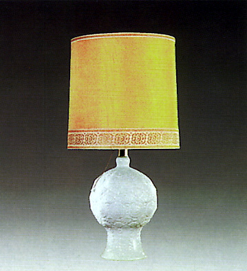 Pomal Lamp Grey Lladro Figurine