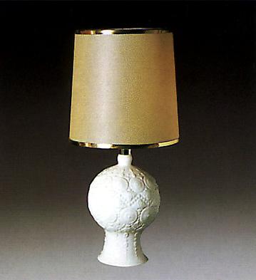 Pomal Lamp White Lladro Figurine