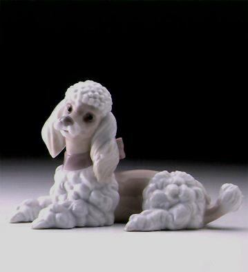 Poodle Lladro Figurine