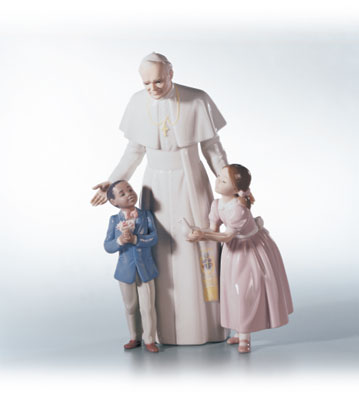 Pope John Paul Ii Lladro Figurine