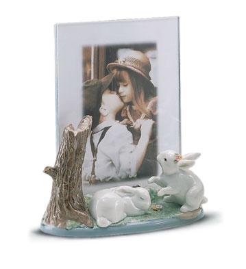 Portrait Frame Lladro Figurine