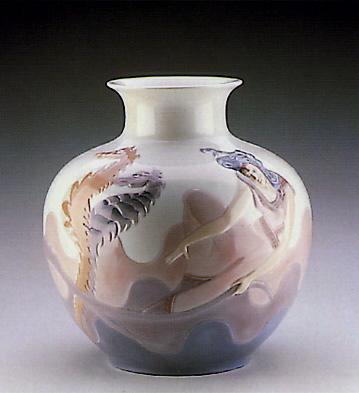 Poseidon Vase Lladro Figurine