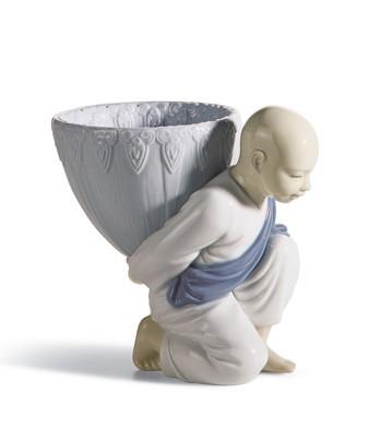 Potpourri Gift (blue) Lladro Figurine
