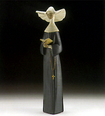 Prayerful Moment Lladro Figurine