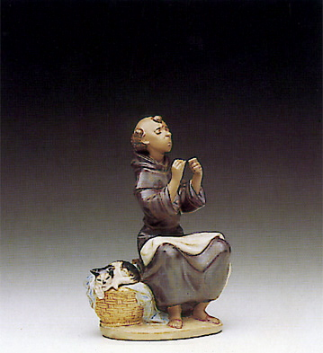 Prayerful Stitch Lladro Figurine
