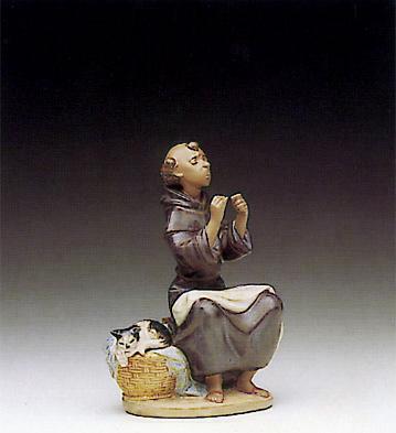 Prayerful Stitch Lladro Figurine