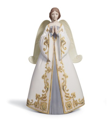 Praying - Cantata (tree Topper) Lladro Figurine