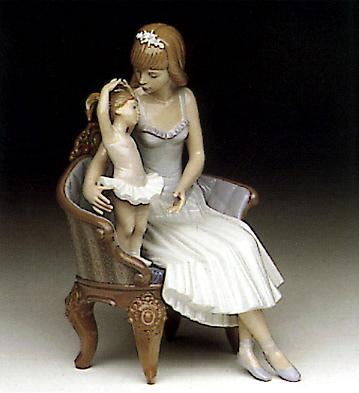 Precocious Ballerina Lladro Figurine