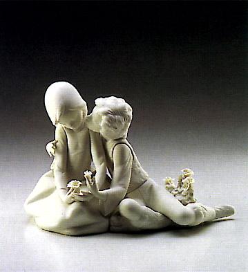 Precocious Courtship Lladro Figurine