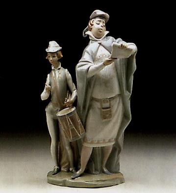 Pregonero Lladro Figurine