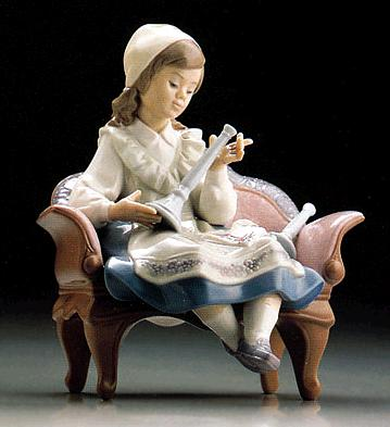 Preparing For The Sabbath Lladro Figurine