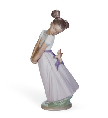 Pretty Bird! Lladro Figurine