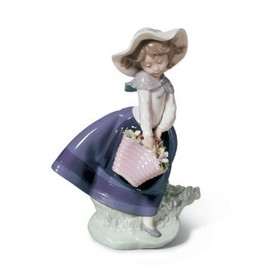 Pretty Pickings Lladro Figurine