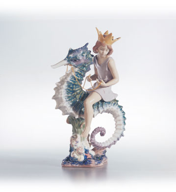 Prince Of The Sea Lladro Figurine