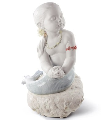 Princess Of The Waves Lladro Figurine
