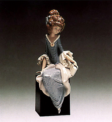 Princess Sitting (b) Lladro Figurine