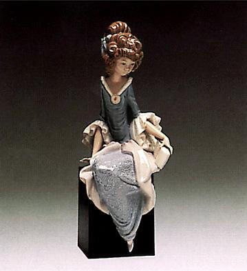 Princess Sitting (b) Lladro Figurine