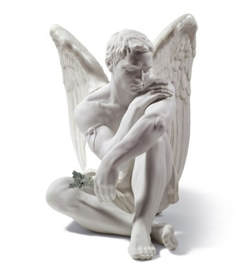 Protective Angel Lladro Figurine