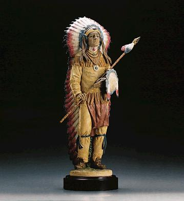 Proud Warrior (l.e.) (b) Lladro Figurine