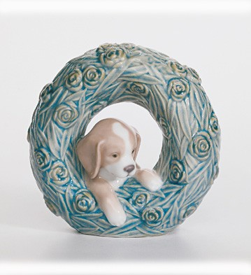 Puppy - Natural Frames Lladro Figurine