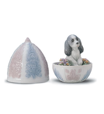 Puppy Surprise Lladro Figurine