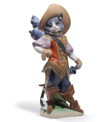 Puss In Boots Lladro Figurine