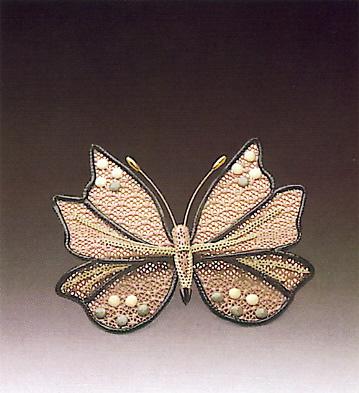 Queen Butterfly N.14 Lladro Figurine
