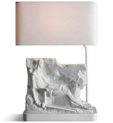 Quixote Mural - Lamp (us) Lladro Figurine