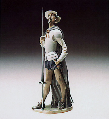 Quixote On Guard Lladro Figurine