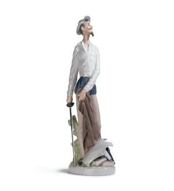 Quixote Standing Up Lladro Figurine