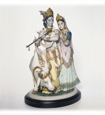 Radha Krishna Lladro Figurine