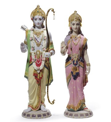 Rama And Sita Lladro Figurine