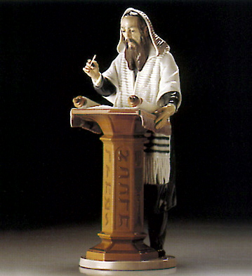 Reading The Torah Lladro Figurine