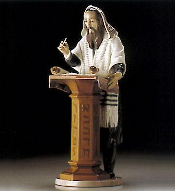 Reading The Torah Lladro Figurine