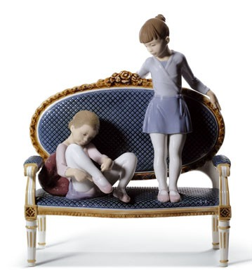 Ready For Practice Lladro Figurine