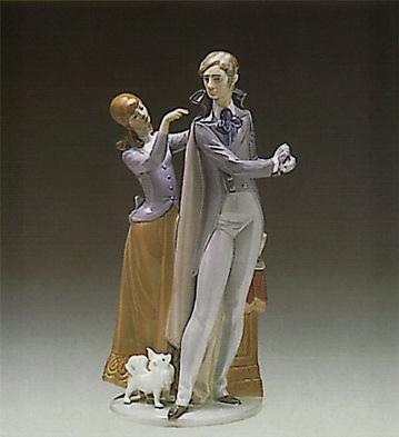 Ready To Go Lladro Figurine