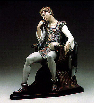Reflections Of Hamlet(b) Lladro Figurine