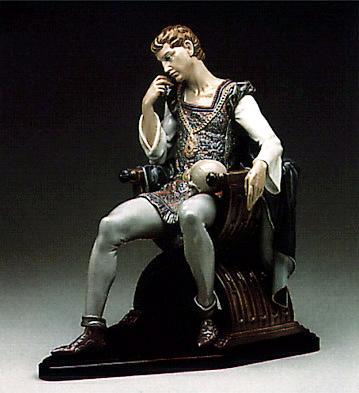 Reflections Of Hamlet(b) Lladro Figurine