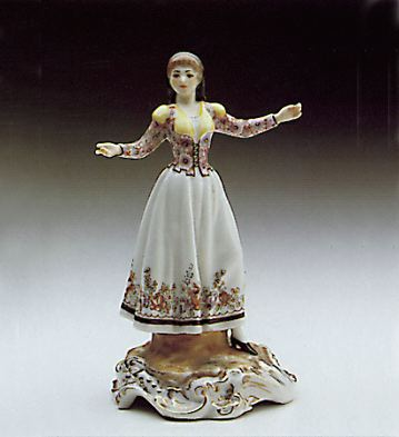 Regional Dance Lladro Figurine