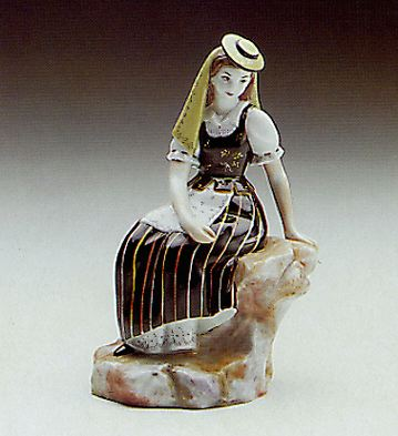 Regional Dress Lladro Figurine