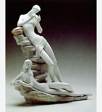 Reposing Lladro Figurine
