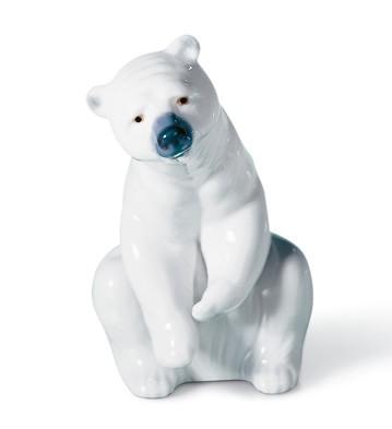 Resting Polar Bear Lladro Figurine