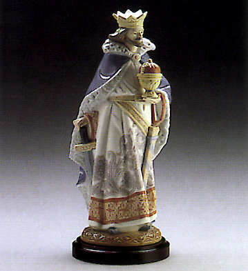 Rey De Copas (l.e.) (b) Lladro Figurine
