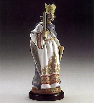 Rey De Espadas (l.e.) (b) Lladro Figurine
