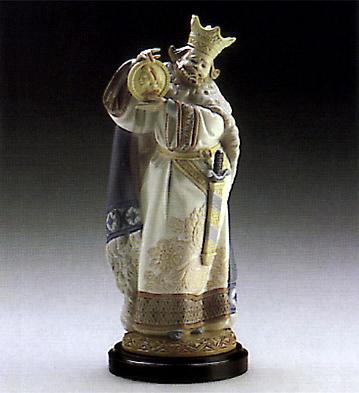 Rey De Oros (l.e.) (b) Lladro Figurine