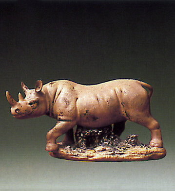 Rhinoceros Lladro Figurine