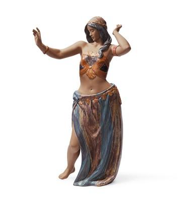 Rhythm Of The East Ii Lladro Figurine