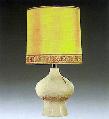 Rialto Lamp Beige Lladro Figurine