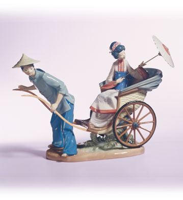 Ride In China Lladro Figurine