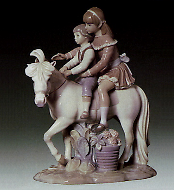 Ride On Little Horse Lladro Figurine